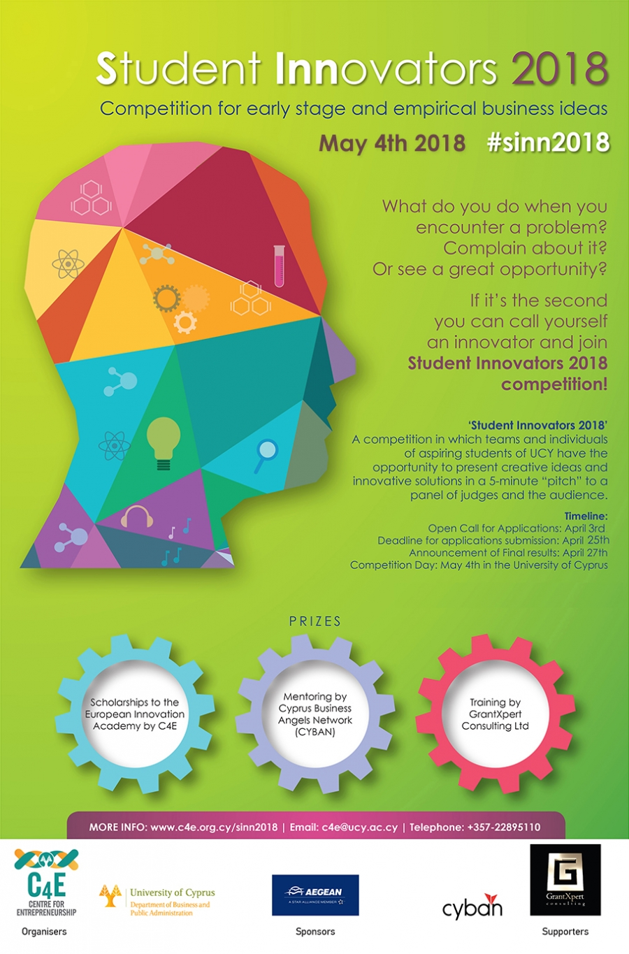 [04 May] Student Innovators Competition 2018