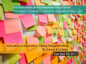 Innovation in Education: Taking Design Thinking To School & College