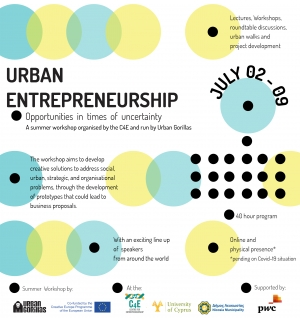 C4E 104: 'Urban Entrepreneurship: Opportunities in times of uncertainty'