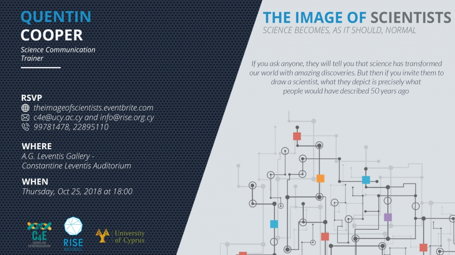 [25 Oct] Open Lecture: The Image of Scientists