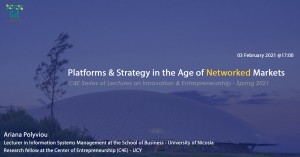 [03 Feb] Platforms & Strategy in the Age of Networked Markets