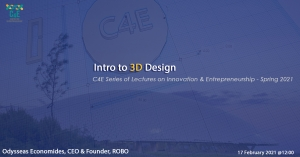 [17 Feb] Intro to 3D Design