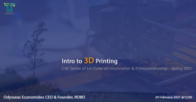 [24 Feb] Intro to 3D Printing