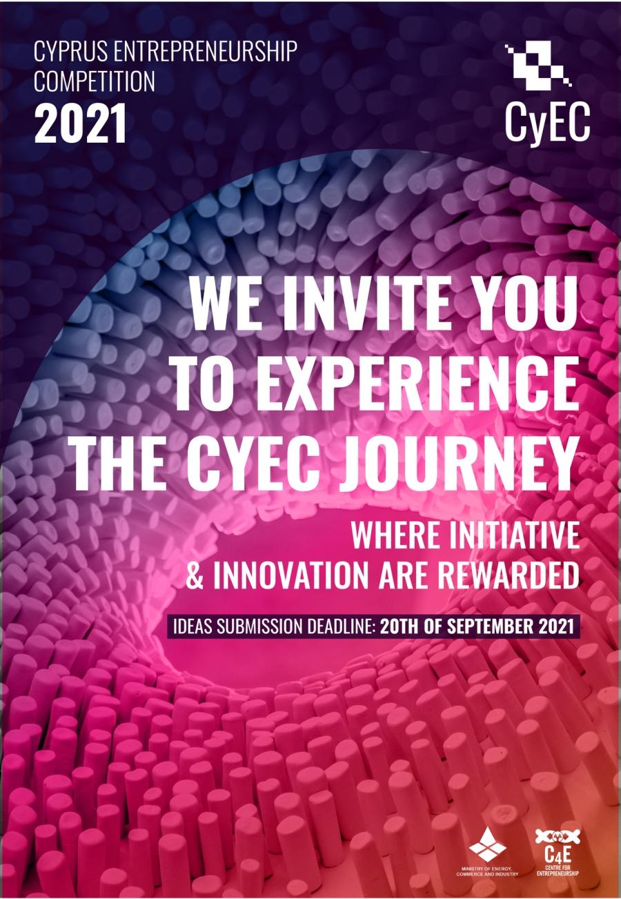 [20 Sep] The Cyprus Entrepreneurship Competition CyEC 2021