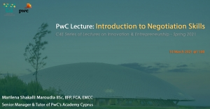 PwC Lecture: 'Introduction to Negotiation Skills'