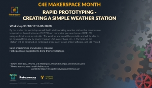 C4E Makerspace Month: Rapid Prototyping - Creating a simple weather station