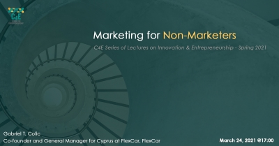 [24 Mar] Marketing for Non-Marketers
